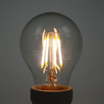 Auraled A-FLM-GL-4-WW-B 4W Warm White LED Filament Bulb - Bayonet Cap