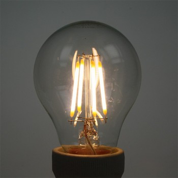 Auraled A-FLM-GL-4-WW-E 4W Warm White LED Filament Bulb - Edison Screw