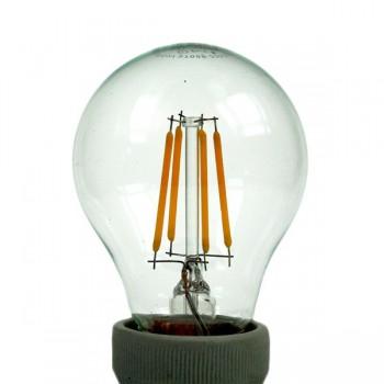 Auraled A-FLM-GL-4-WW-E 4W Warm White LED Filament Bulb - Edison Screw