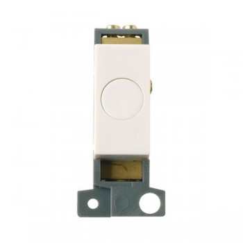 Click Minigrid MD017PW 20A Flex Outlet Module Polar White