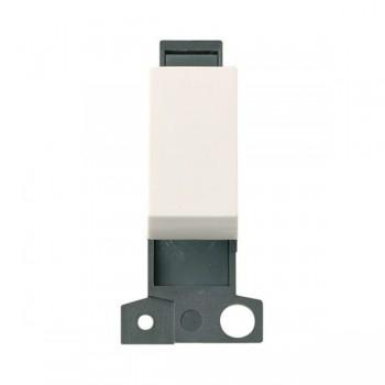 Click Minigrid MD070PW 10AX 3 Position Switch Module Polar White