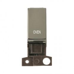 Click Minigrid MD018BNOV 13A Resistive 10AX DP Oven Switch Module Black Nickel