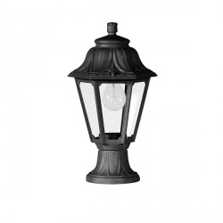 Fumagalli E22.110.AX Mikrolot Anna 385mm Black Pedestal Lantern