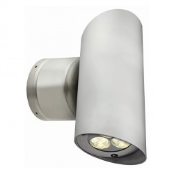 Collingwood Lighting WL262FNW Large Anodised Aluminium Neutral White Up/down LED Wall light 38° Beam ...