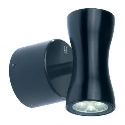 Collingwood Lighting WL170A WW Warm White Up/down LED Wall light 18° Beam Angle in Black
