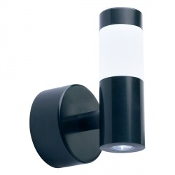 Collingwood Lighting WL160 WW Straight To Mains LED Halo/Flood Wall Light Warm White in Black