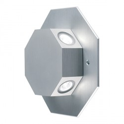 Collingwood Lighting OCTOLEDWW Rotatable Octagonal Warm White LED Wall Light