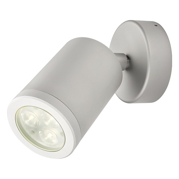 Collingwood Lighting WL220A F NW Neutral White LED Adjustable Anodised  Aluminium Wall Light Beam Angle 38°