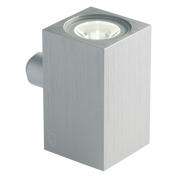 Collingwood Lighting Mc020 S Amber Up Down Mini Cube Led Wall Light Amber