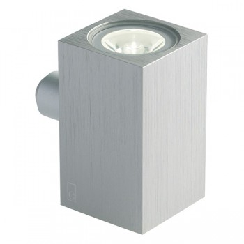 Collingwood Lighting MC020 S AMBER Up/Down Mini Cube LED Wall Light Amber
