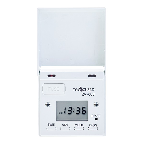 Timeguard zv700b 7 day digital light switch with optional dusk start timeguard zv700b 7 day digital light switch with optional dusk start aloadofball Images