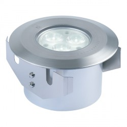 Collingwood Lighting GL038A F WW Straight to Mains Warm White LED Ground Light 6W