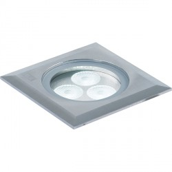 Collingwood Lighting GL041 S NW 3W Square LED Spot Ground Light Neutral White