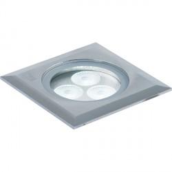 Collingwood Lighting GL041 S NW 3W Square LED Spot Ground Light Neutral White