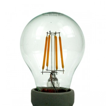 Auraled A-FLM-GL-4-CW-E 4W Cool White LED Filament Bulb - Edison Screw