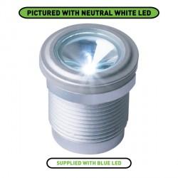 Collingwood Lighting LED LYTE IP T BL IP65 Rated Blue LED Threaded Mini Light