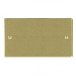 Hamilton Hartland Satin Brass Double Blank Plate