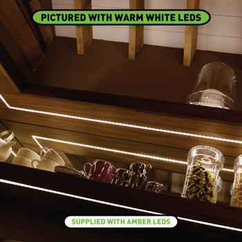 Collingwood Lighting LEDSTRIP IP AMB Amber Flexible Waterproof LED Strip