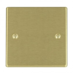 Hamilton Hartland Satin Brass Single Blank Plate