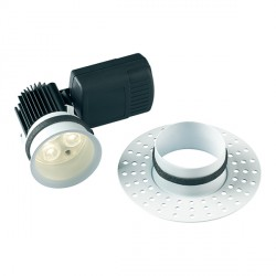 Collingwood Halers H5 500 Trimless 3000K Dimmable Fixed Low Glare LED Downlight