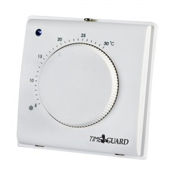 Timeguard TRT032 Electronic Room Thermostat with Tamper Proof Cover