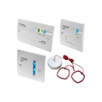 Timeguard EASZK Single Zone Emergency Assist Alarm System Kit White Finish