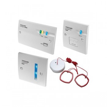 Timeguard EASZPRK Single Zone Emergency Assist Alarm System Battery Back-up Kit White Finish