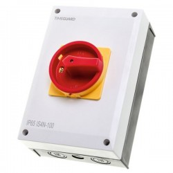 Timeguard IS4N-100 Weathersafe 100Amp 4 Pole Rotary Isolator Switch