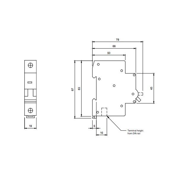 Europa euc1p50c 50amp type c 10ka single pole mcb at uk electrical europa euc1p50c 50amp type c 10ka single pole mcb publicscrutiny Image collections