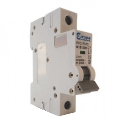 Europa EUC1P16D 16amp Type D 10kA Single Pole MCB