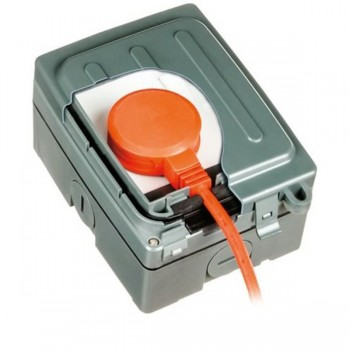 Timeguard WXT101N Weathersafe Extreme One Gang 13A Switched Socket