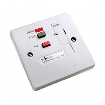 Timeguard TFP10WL Tripfast RCD White Fused Connection Unit - Passive