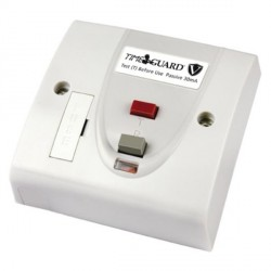 Timeguard RCD10WPV Valiance® RCD White Fused Connection Unit - Passive
