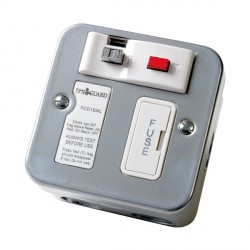 Timeguard RCD16ML Metal Fused Connection Unit - Passive