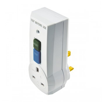 Timeguard CB008 Safety Breaker RCD Adaptor Plug