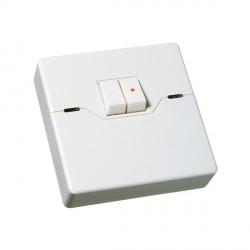 Timeguard ZV215 Programmable Security Twin Gang Light Switch