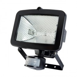 Timeguard SLB400G Security PIR-500 Energy Saving Halogen Floodlight Tilt and Pan Capability in Black