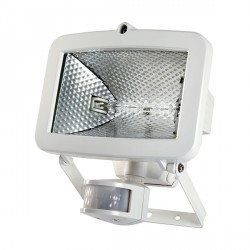 Timeguard SLW400G Security PIR-500 Energy Saving Halogen Floodlight Tilt and Pan Capability in White