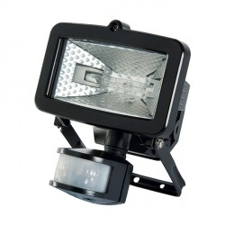 Timeguard SLB100G Security PIR-150 Energy Saving Halogen Floodlight Tilt and Pan Capability in Black