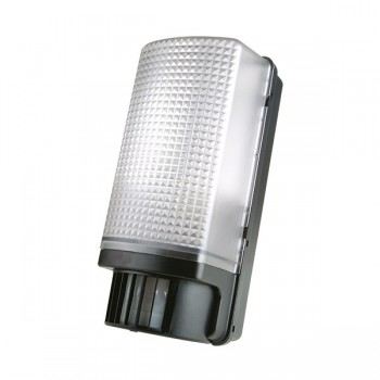 Timeguard SLB88 PIR Bulkhead Light in Black