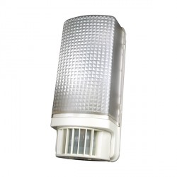 Timeguard SLW89 PIR Bulkhead Light in White