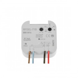 Click iNELS RFDEL-71B RF 160VA Dimming Actuator with Input (Box)