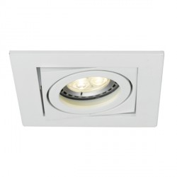 Ansell Lyric 1x50W Adjustable GU10 Matt White Downlight