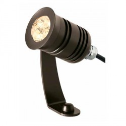 Ansell Lyras ALY67LED 5W Warm White LED Mini-projector with Single Stirrup Arm in Anodised Bronze
