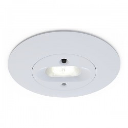 Ansell Merlin White 5W Non-Maintained LED Emergency Downlight - Escape Route