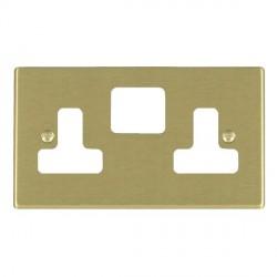 Hamilton Hartland Grid Satin Brass SS2 Grid Fix Aperture Plate