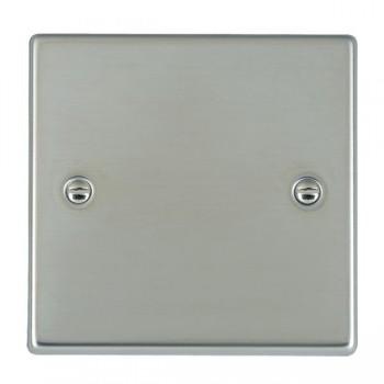Hamilton Hartland Bright Steel Single Blank Plate
