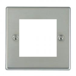 Hamilton Hartland EuroFix Plates Bright Steel Single Plate c/w 2 EuroFix Apertures + Grid
