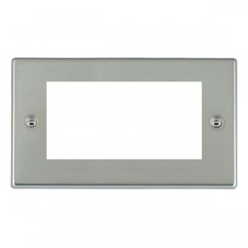 Hamilton Hartland EuroFix Plates Bright Steel Double Plate c/w 4 EuroFix Apertures + Grid
