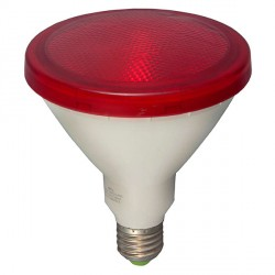 Bell Lighting 15W Non-Dimmable E27 Red Coloured PAR38 LED
